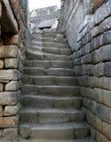 Stone Stairway. Stairway at the ruins in Peru Stock Image