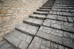 Stone stairway Royalty Free Stock Photography