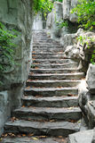 Stone stairway Stock Photo