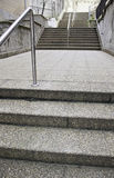 Stone stairway in the city Stock Images