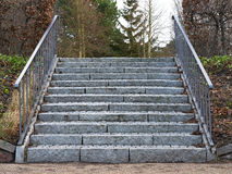 Stone stairway Stock Images