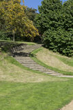 Stone Stairway leading Chartwell Winston Churchill Home Stock Image