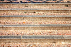 Stone stairway Royalty Free Stock Images