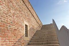 Stone stairway. To the heaven Royalty Free Stock Photos