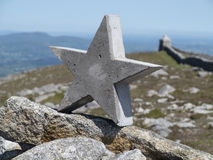 Stone star Royalty Free Stock Image