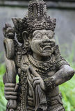 Stone Statue of an Ancient Deity Stock Images