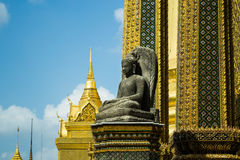 Stone statue of Buddha Royalty Free Stock Photos
