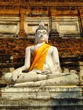 Stone statue of a buddha Stock Photography