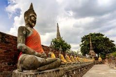Stone statue of a Buddha Stock Photos