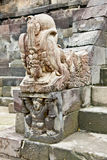 Stone statue in Candi Sambisari underground hindu temple , Java, Stock Photos