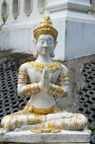 Stone statue of deity Royalty Free Stock Images