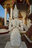 Stone statue of deity Royalty Free Stock Image