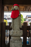 Stone statue of Jizo in Kawagoe town Royalty Free Stock Photography