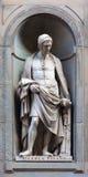 Stone statue of Nicola Pisano Stock Image