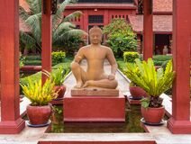 Free Stone Statue Of The Leper King - Phnom Penh Royalty Free Stock Photography - 169374187