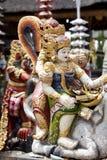 Stone Statue at Pura Ulun Danu Batur, Bali Stock Photos