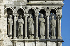 Stone statues Royalty Free Stock Photos