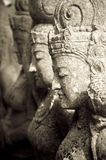 Stone Statues. Bali, Indonesia, Asia; Stone Statues and carvings Stock Photos