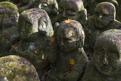 Stone statues of Buddha Stock Photo