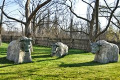 Stone statues Stock Photos