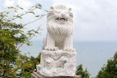 Stone statues in Danang City. Stock Image