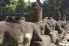 Stone Statues Royalty Free Stock Image