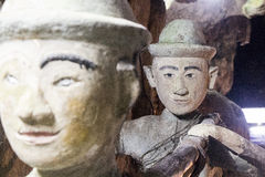 Stone Statues Stock Photography