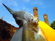 Stone staue of Buddha Stock Photography