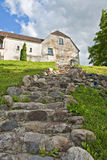 Stone steps. Stock Images