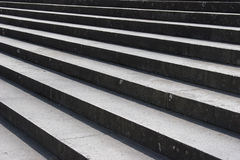 Stone Steps. Grey stone stairway explain perspective royalty free stock images