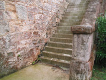 Stone Steps. Old stone steps at King's Wharf, Bermuda If you can, please leave a comment about what you are going to use this image for. It'll help me for future Royalty Free Stock Photo