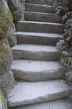 Stone steps Royalty Free Stock Photo