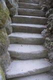 Stone steps Royalty Free Stock Photo