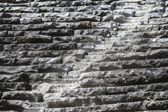 The stone steps of the ancient amphitheater Stock Photo