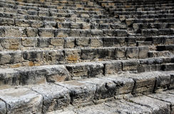 Stone steps ascending. Royalty Free Stock Photography