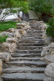 Stone Steps in Beijing, China Royalty Free Stock Images