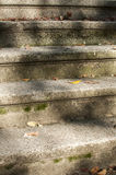 Stone steps in front of old house Stock Photography