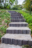 Stone steps leading up Stock Image