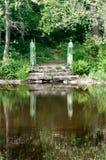 Stone steps leading Royalty Free Stock Photo