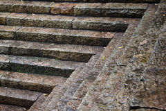 Stone steps Pattern Royalty Free Stock Image
