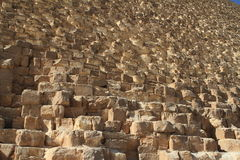 The stone steps of the pyramids Stock Images