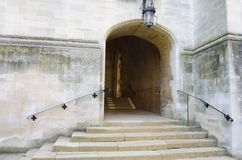 Stone steps to Entrance Royalty Free Stock Image