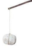 Stone on a stick royalty free stock photo