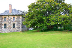 Stone Store historic building in KeriKeri, New Zealand. Royalty Free Stock Photos
