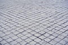 Stone street floor. In europe stock photos
