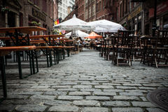 Stone Street New York City Stock Image