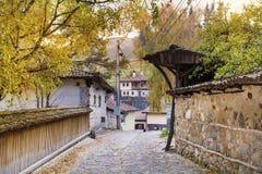 Stone street in the revival city of  Koprivshtitza Stock Photography