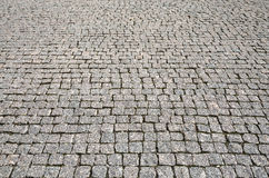 Stone street road pavement texture Stock Images