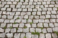 Stone street road pavement texture Royalty Free Stock Photos