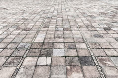 Stone street road pavement texture Stock Photography